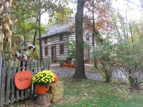 Walnut Ridge Wisconsin Log Cabin Vacation Rental Home Near Galena Illinois  Lodging, Madison WI Hotel