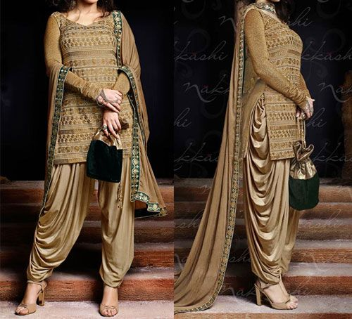 Dhoti Style Plazo Latest Salwar Kameez Designs Patiala Dress Salwar Kameez Designs