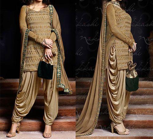 Dhoti Style Plazo Latest Salwar Kameez Designs Patiala Dress Salwar Kameez Designs