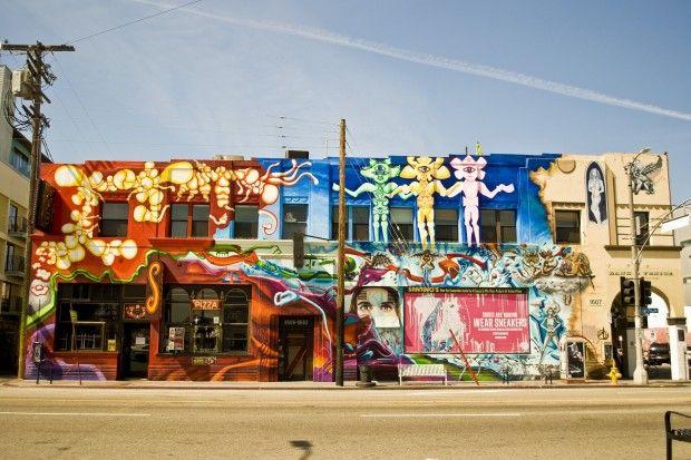 Los Angeles Graffiti Wallpaper