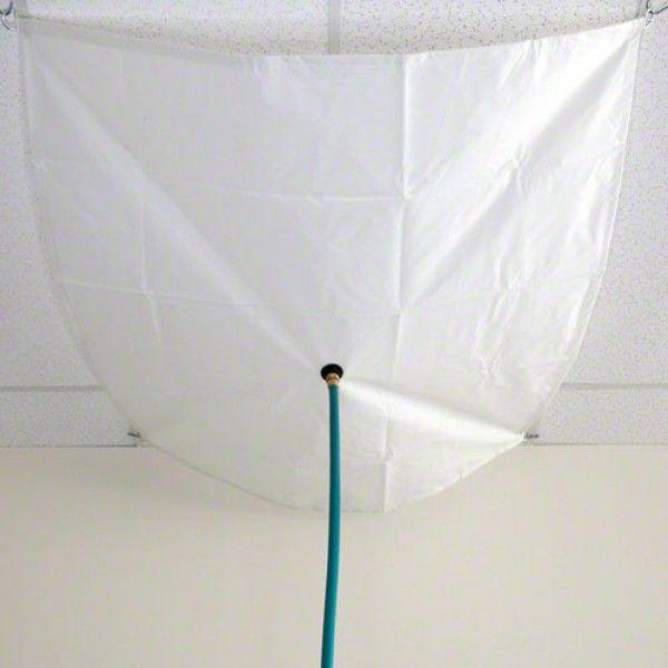 Roof Leak Diverter | Ceiling Leak Diverters | Drain Tarp