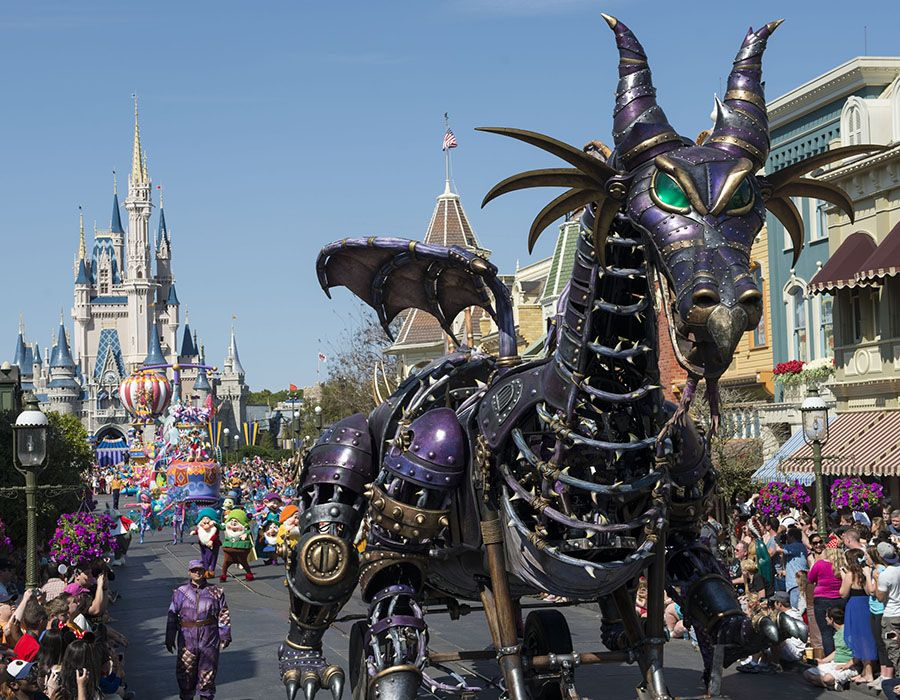 Disney Festival of Fantasy Parade Walt Disney World Florida