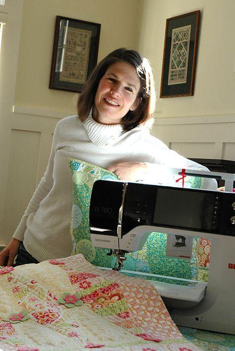BERNINA Sewing Celebrity Amanda Murphy and her B 780 E - Harlequin Runner blog post