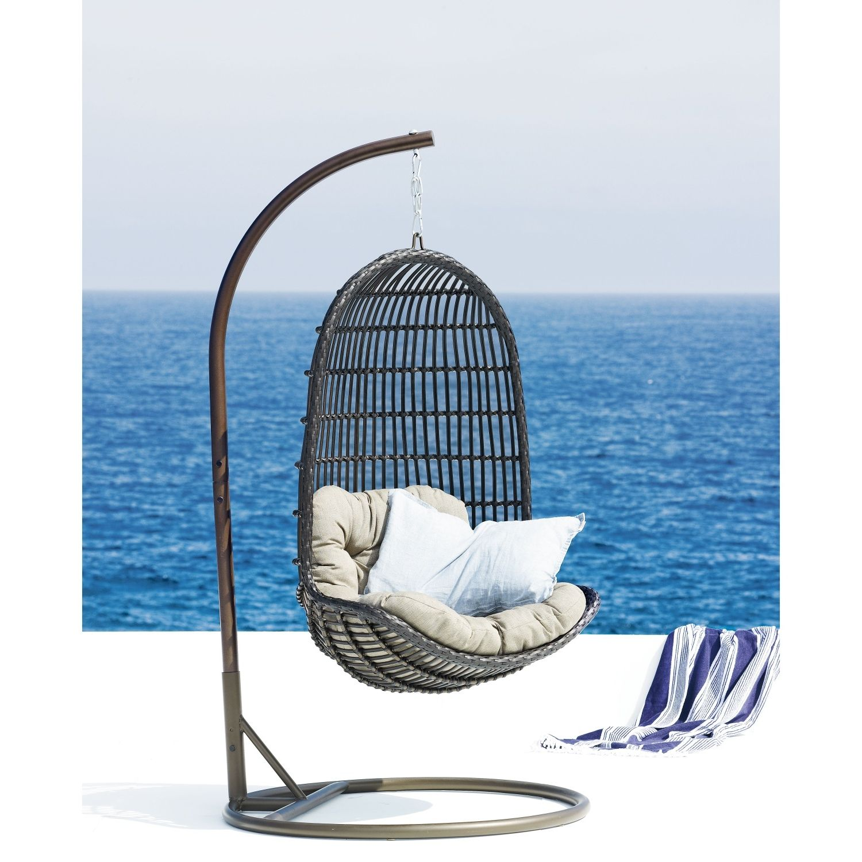 Outdoor Furniture Horizon Hanging Egg Chair Domayne Online