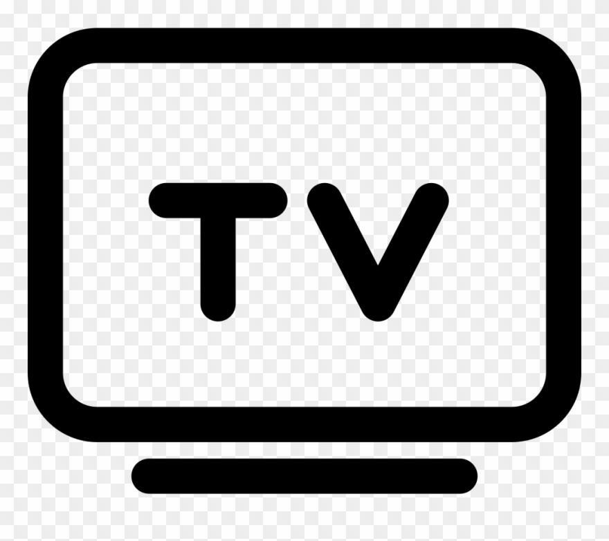Download Hd V Png Tv Clipart Tv Icon Png Black Transparent Png And Use The Free Clipart For Your Creative Project Tv Icon Clip Art Free Clip Art
