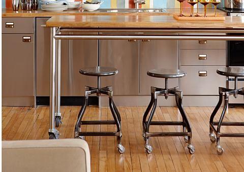 sarah richardson sarah 101 loft-prep table from restaurant ...