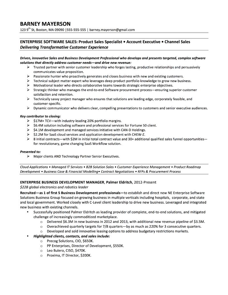 Business Development Manager Resume Architectural Sales Sample Resume Boeing Security Officer Cover