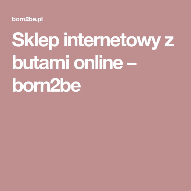 Sklep Internetowy Z Butami Online Born2be Lockscreen