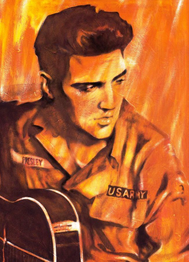 Elvis art work