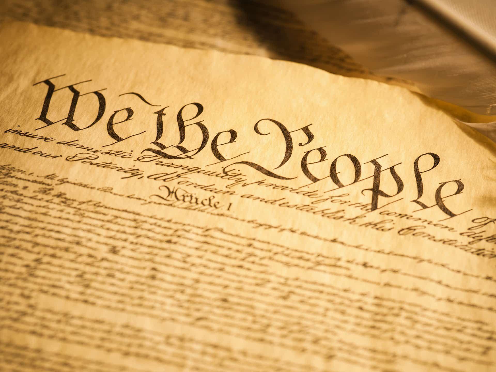America The Beautiful Constitution, Constitution day