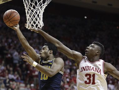 Michigan Bolsters NCAA Resume With First Win At Indiana Since 2009