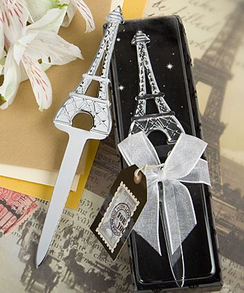 Eiffel Tower Letter Openers At Weddingfavors Weightopen It