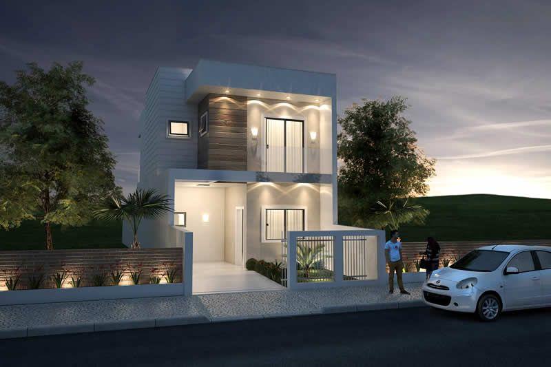 Plano de casa peque a y moderna planos de casas modelos for Casa moderna 80m2