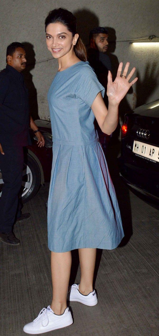 Deepika Padukone At The Talvar Screening! | Deepika ...