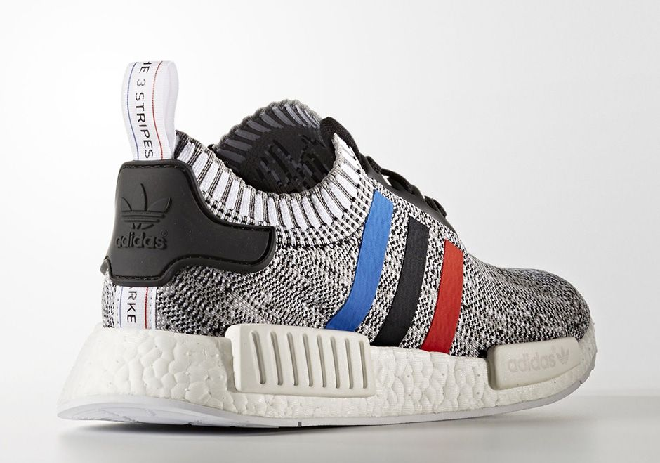 Adidas Nmd R1 Primeknit Tri Color December 2016