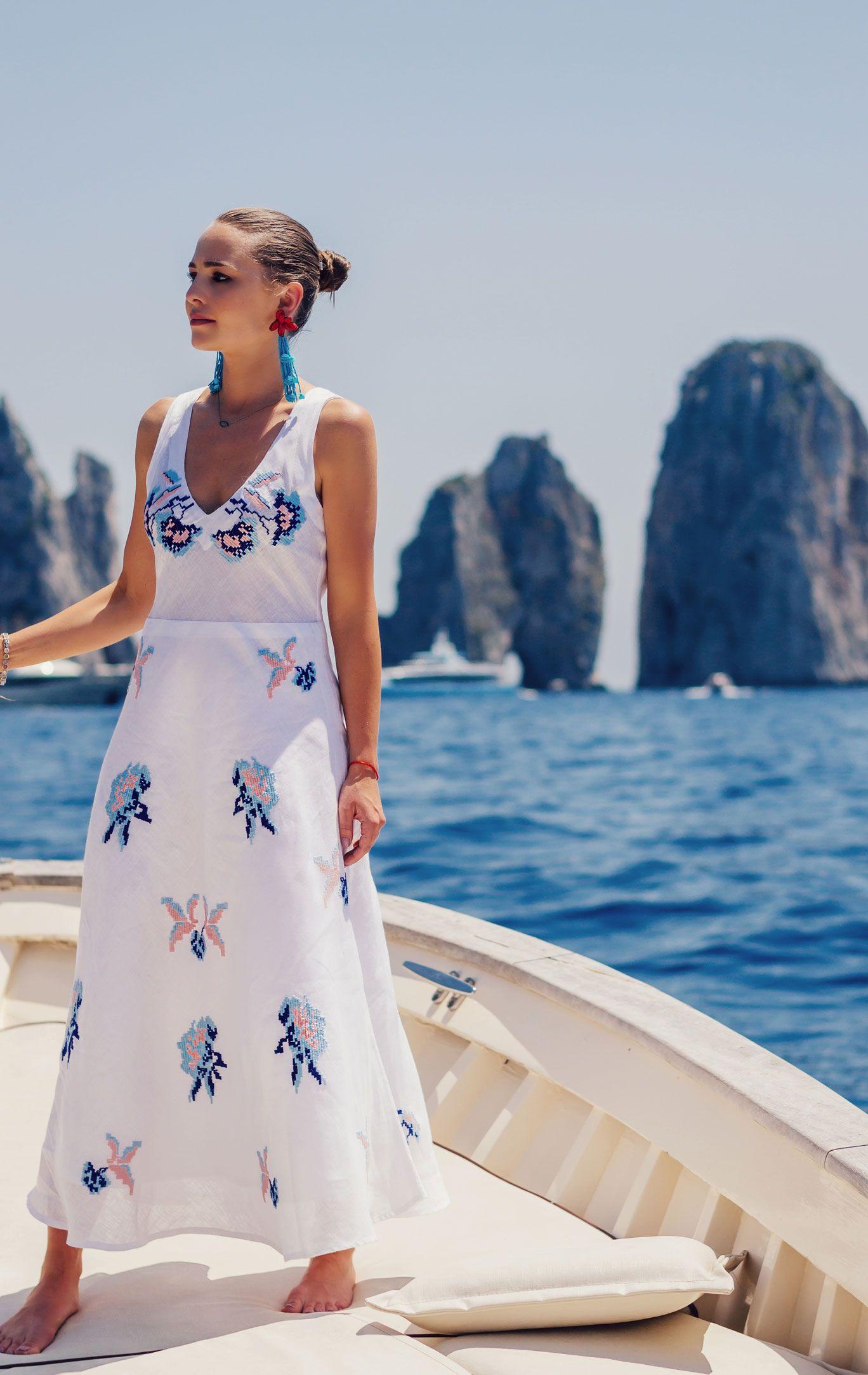 Linen Clothing For Women Bird Of Paradise Resort Casual Summer Wedding Attire Dresses Beach Wedding Guest Dress [ 2165 x 1368 Pixel ]