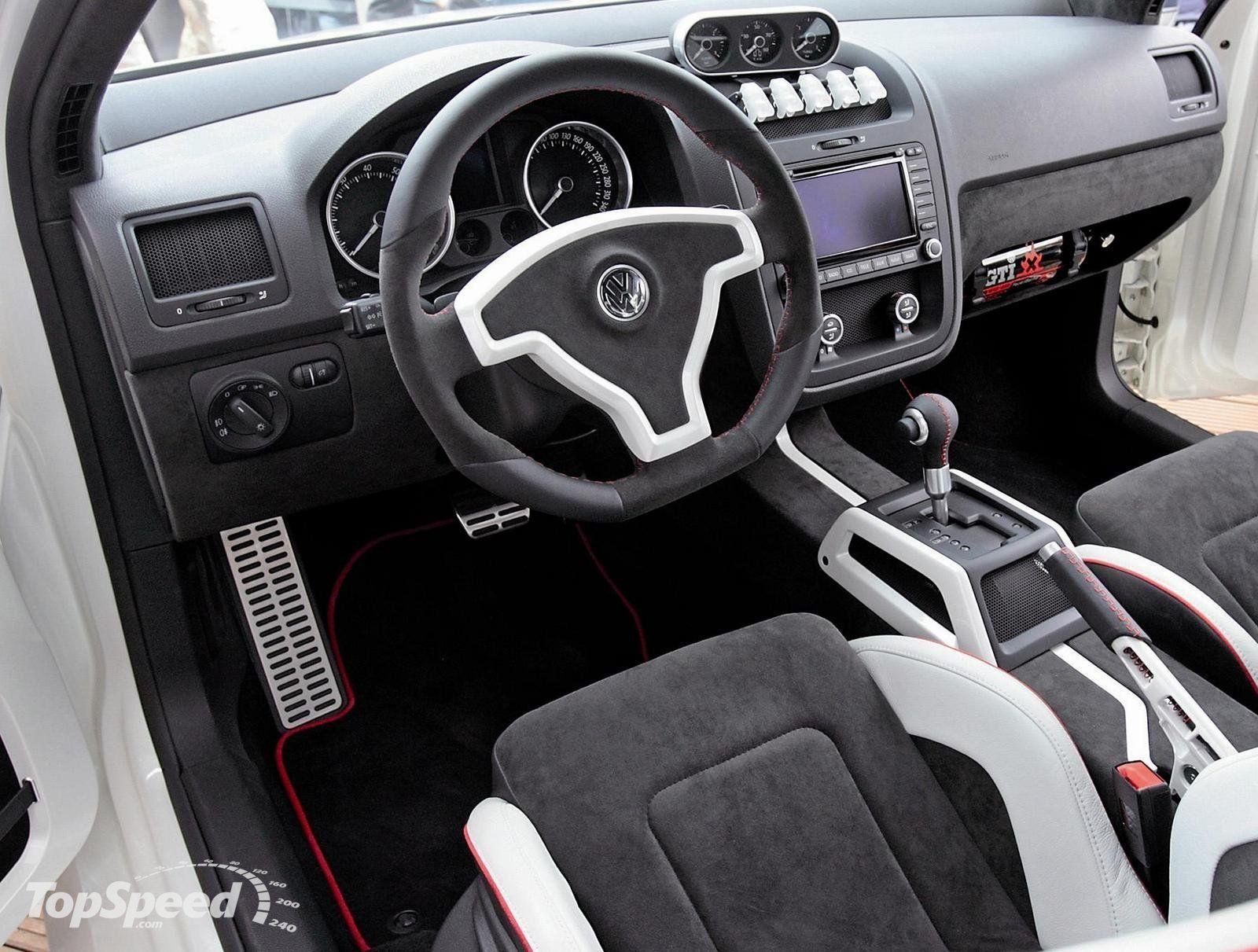 2007 Volkswagen Golf Gti W12 Concept Interior Golf Gti
