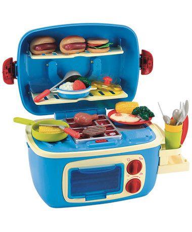 Mini Sizzlin Kitchen Turquoise Toy Ideas Mini Kitchen Mini
