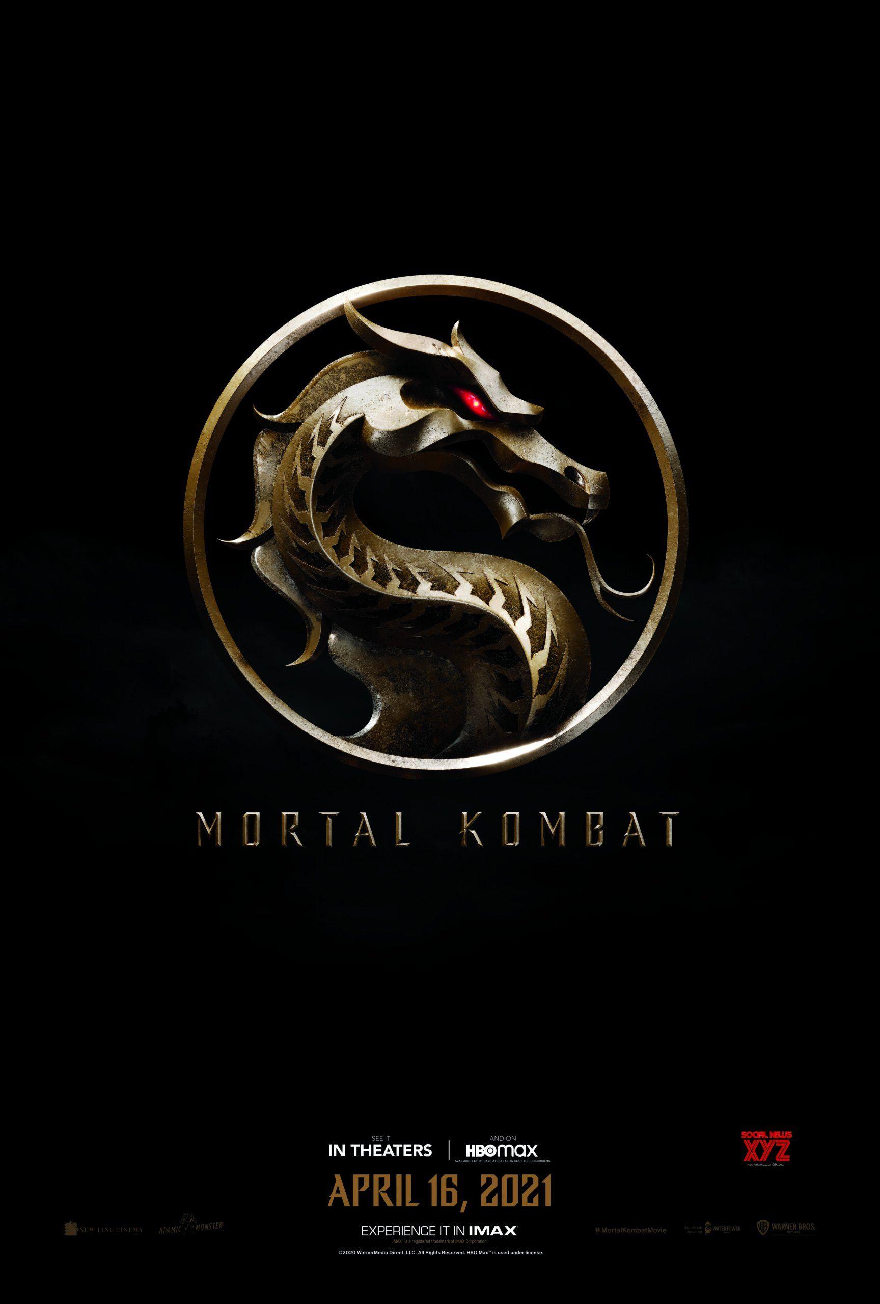 Mortal Kombat Movie Hd Poster Social News Xyz In 2021 Mortal Kombat Movies Movie Nerd