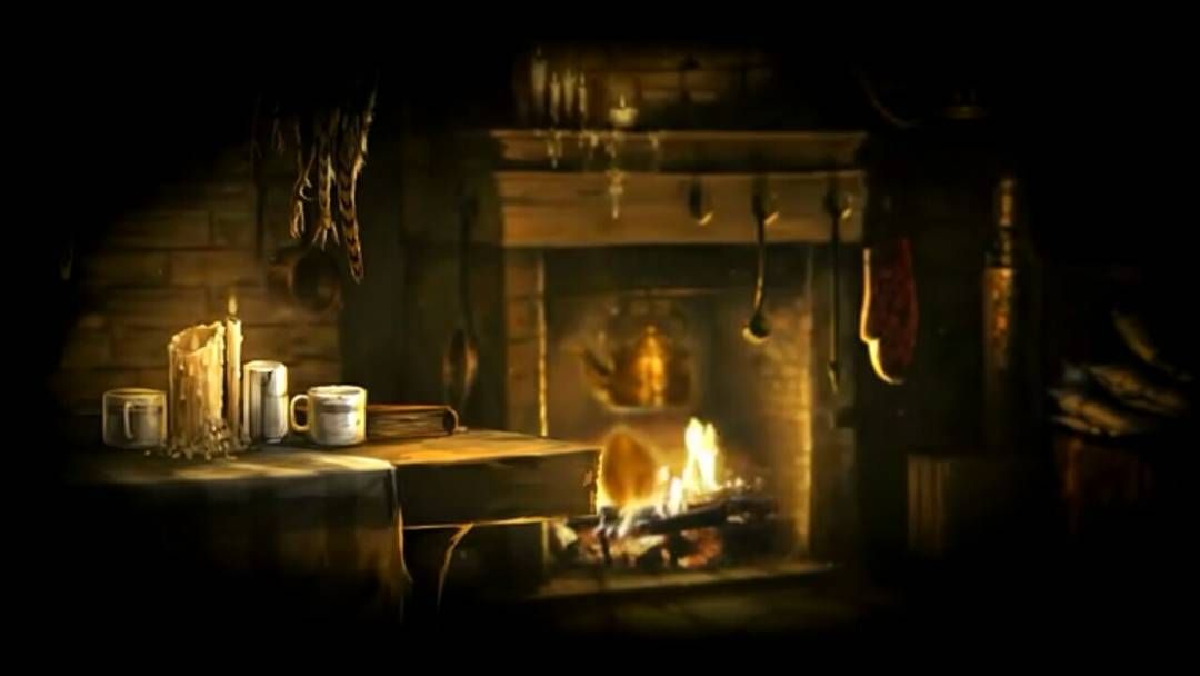 Hagrid's hut ambience (Harry Potter) by ASMR Rooms on