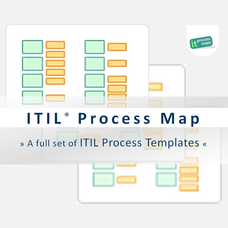 ITIL® Process Map -- ITIL process templates for your ITIL and ISO - process flow chart template word