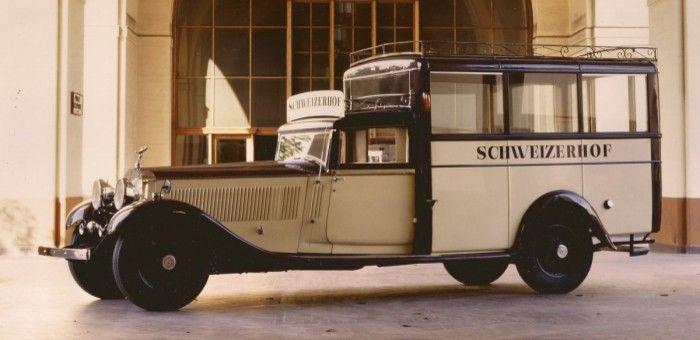 1931 Rolls-Royce Phantom II Barker Estate Wagon (6JS), RHD ...