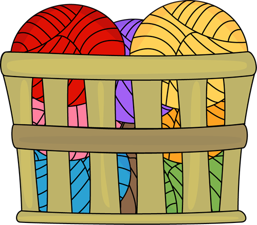 Basket Of Yarn Clip Art Basket Of Yarn Image Yarn Giveaway Yarn Images Clip Art
