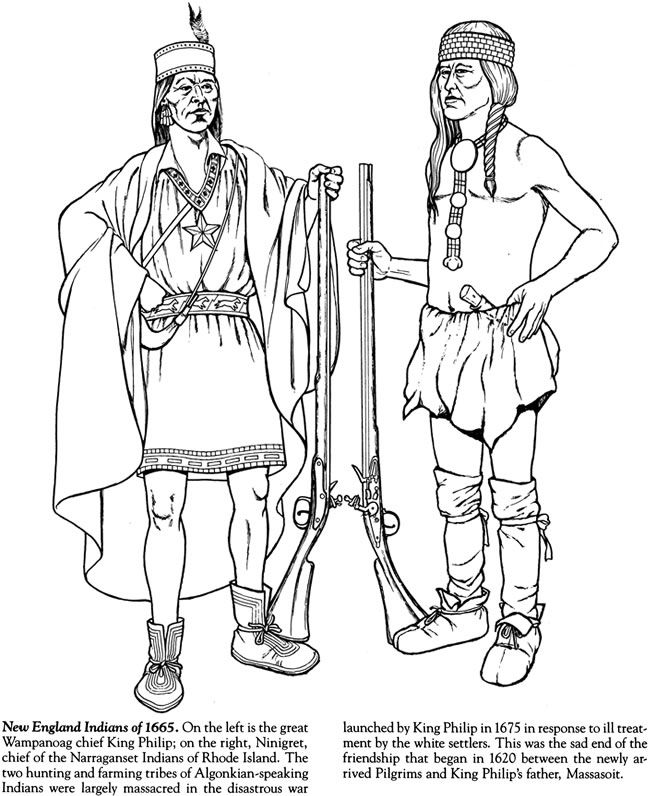 Indian Tribes Of North America Coloring Book Dover Publications Coloring Books Coloring Pages Horse Coloring Pages