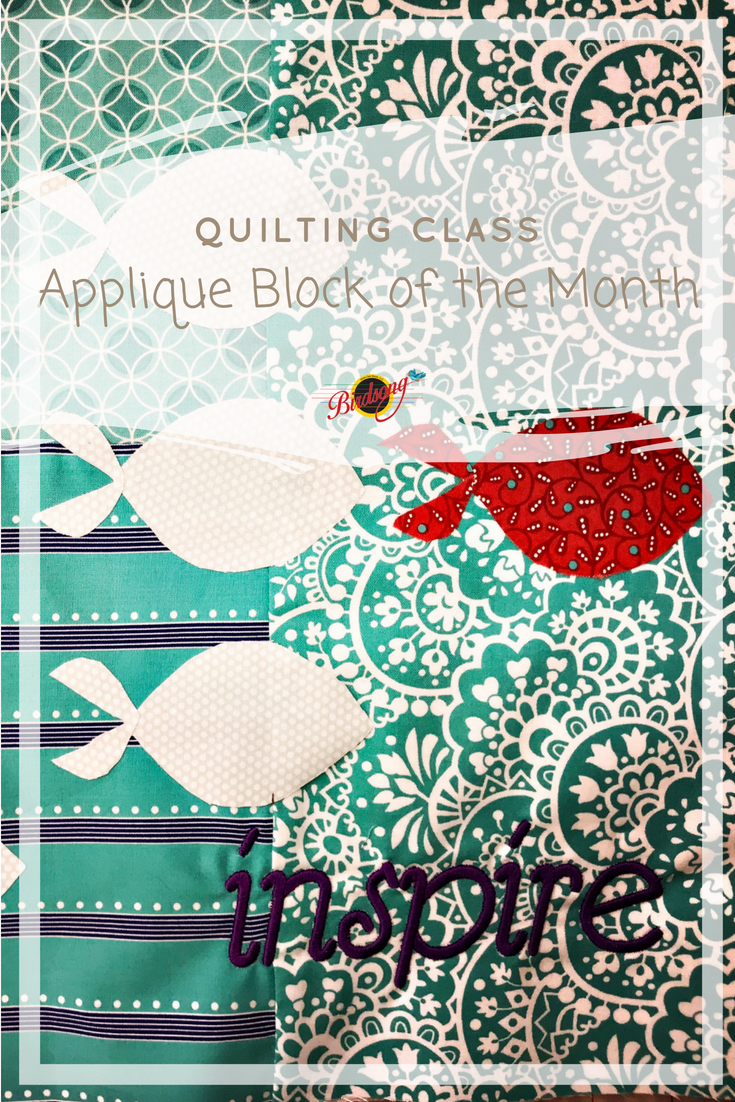Applique Classe 2 Come Join Our Applique Block Of The Month Quiltingclass On June