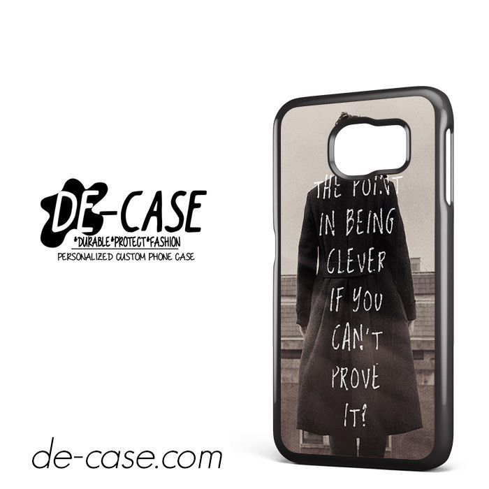 Sherlock Benedict Cumberbatch DEAL-9548 Samsung Phonecase Cover For Samsung Galaxy S6 / S6 Edge / S6 Edge Plus