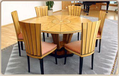 Eliel Saarisen suunnittelemat huonekalut edustavat suomalaista puusepäntaitoa parhaimmillaan.