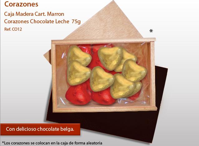 Corazones hechos con la mejor y más intensa la leche con chocolate.