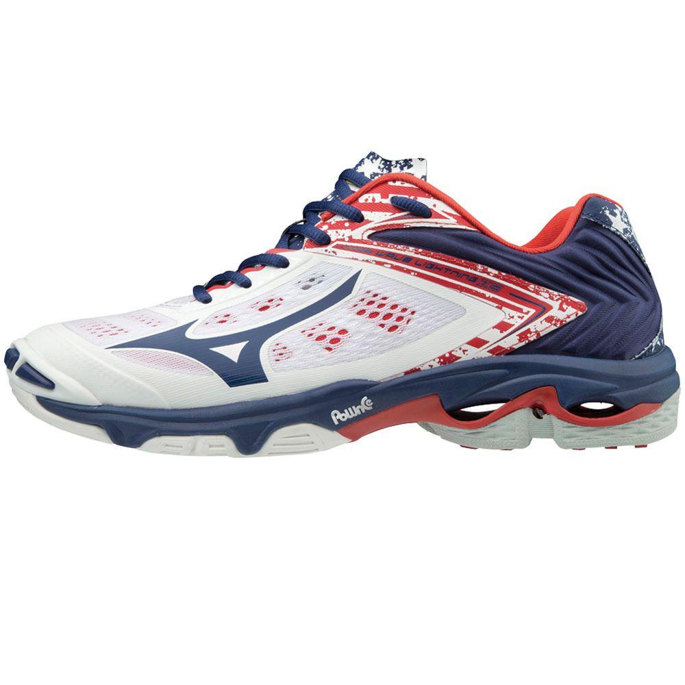 mizuno women's wave lightning z5 mid indoor court shoe meaning