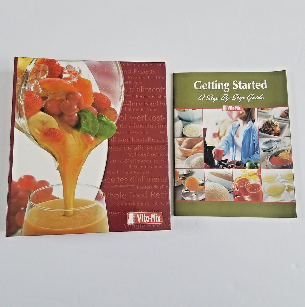 Vitamix whole food recipes cookbook 3 ring binder getting started cd books vitamix whole food recipes forumfinder Choice Image