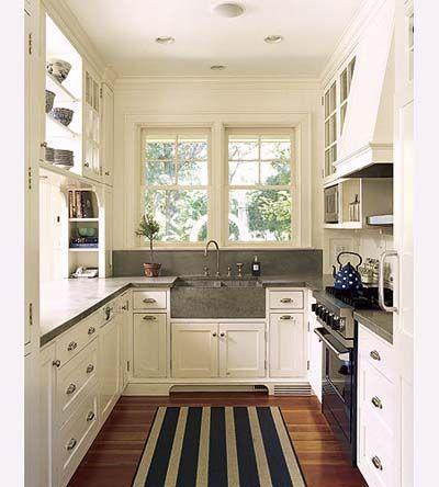Arredare una cucina stretta e lunga… Ecco 20 esempi a cui ...