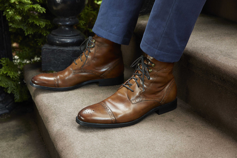 95af34602 Tyndall Cap Toe Boot #johnstonmurphy #fashion // #men // #mensfashion