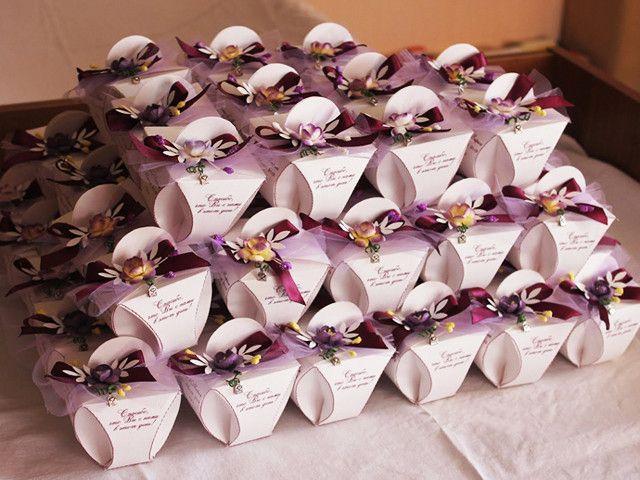 Шаблоны бонбоньерки на свадьбу
