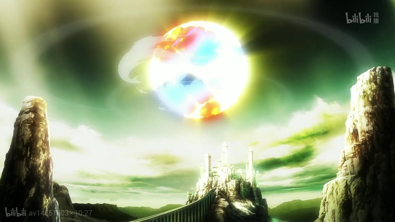 Knight's Magic Anime Landscape