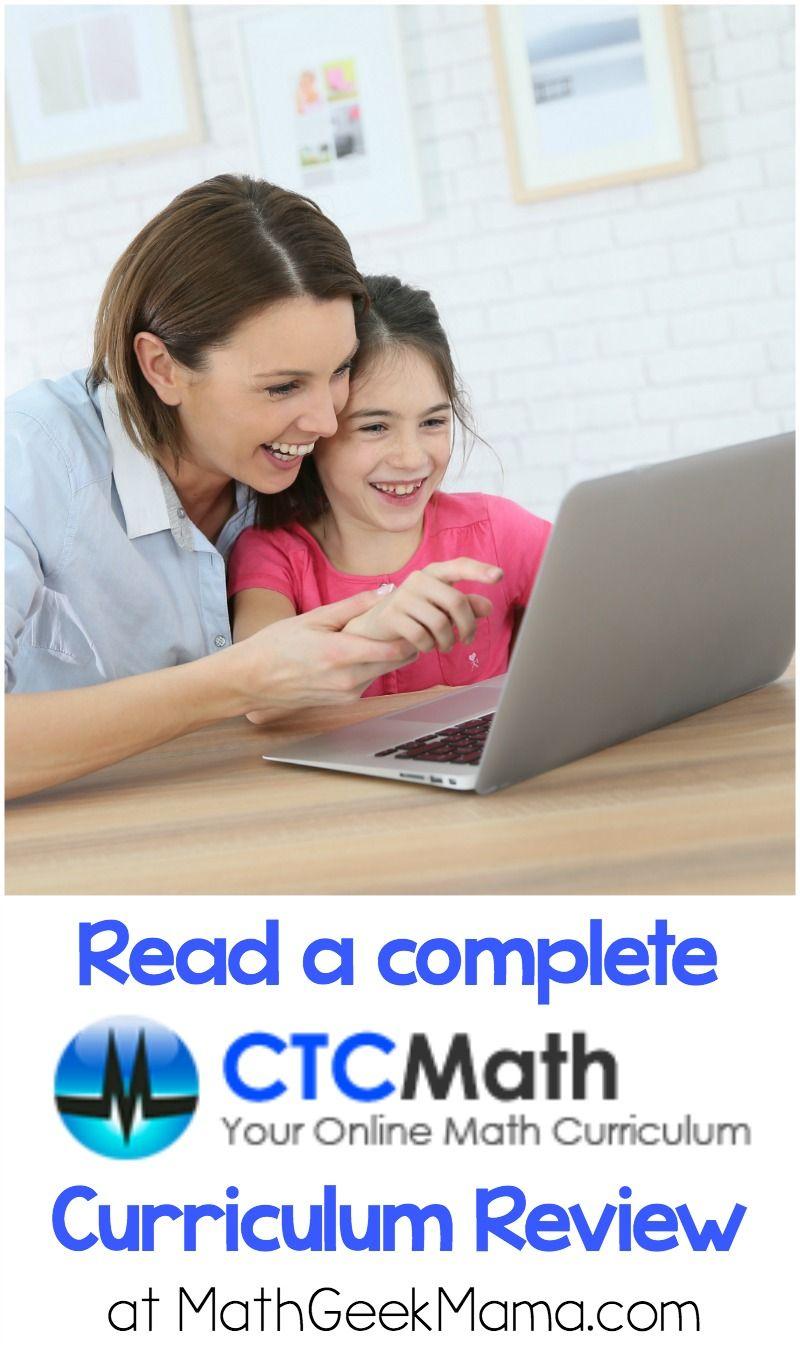 Online Homeschool Math: CTC Math Review | Homeschool math ...