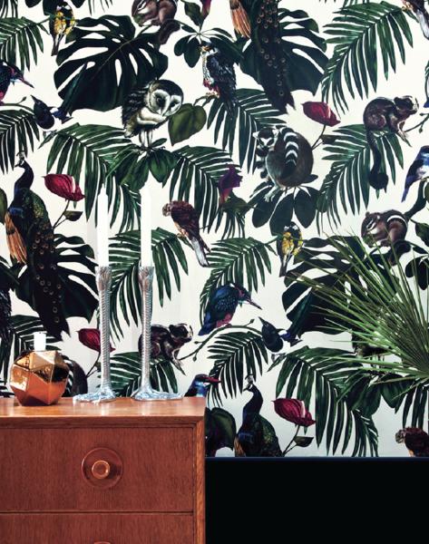 Amazonia Light Wallpaper
