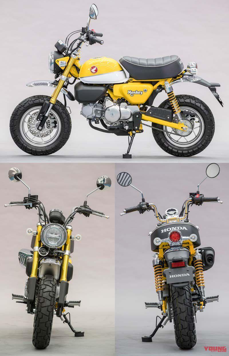 Honda Monkey Cafe Racer Kit : honda, monkey, racer, 西村, 欲しいもの, Bike,, Scooter, Lowrider