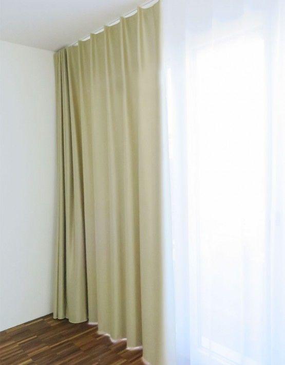 Verdunkelungs vorhang z rich gold beige messing bronze for Nachtvorhang kinderzimmer