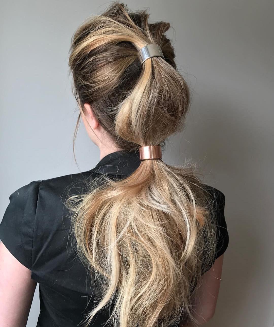 10 Trendiest Ponytail Hairstyles for Long Hair Easy ...