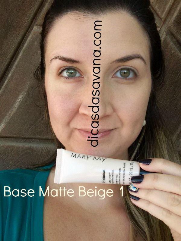 Resenha Base Liquida Timewise Acabamento Matte Mary Kay Ivory 7