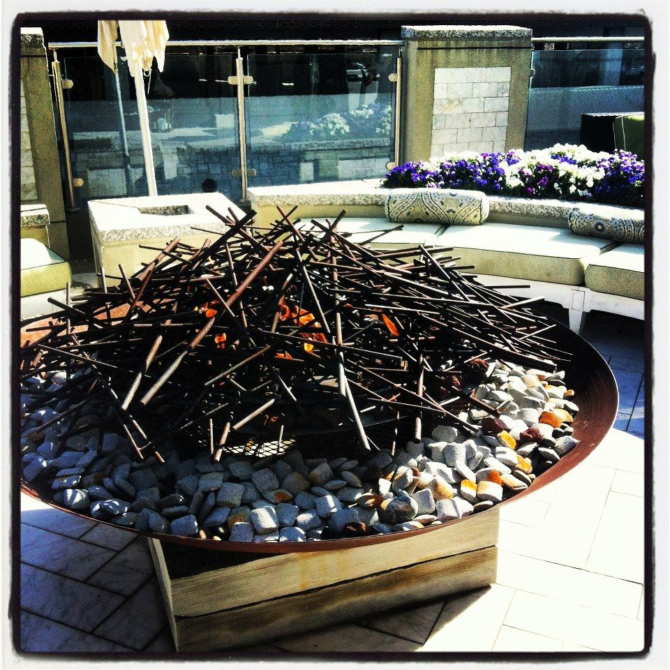Bellwether Landscape Architects In Atlanta Ga: Atlanta GA One Of Our Beautiful Fire Pits