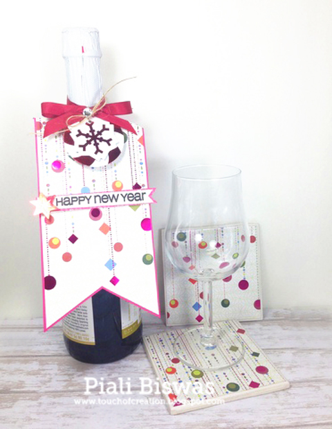 New Year's Hostess Gift DIY I think this could translate well in a valentine gift also...