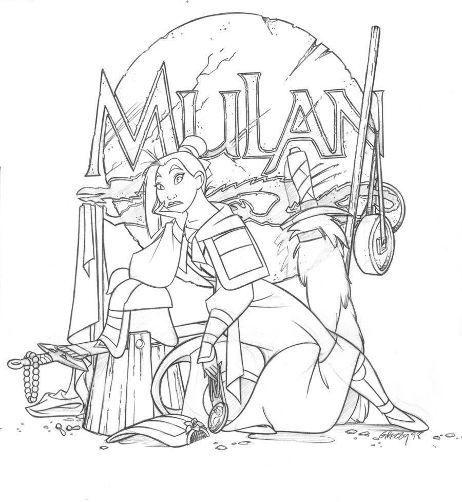 Dan Gracey Mulan Desenhos