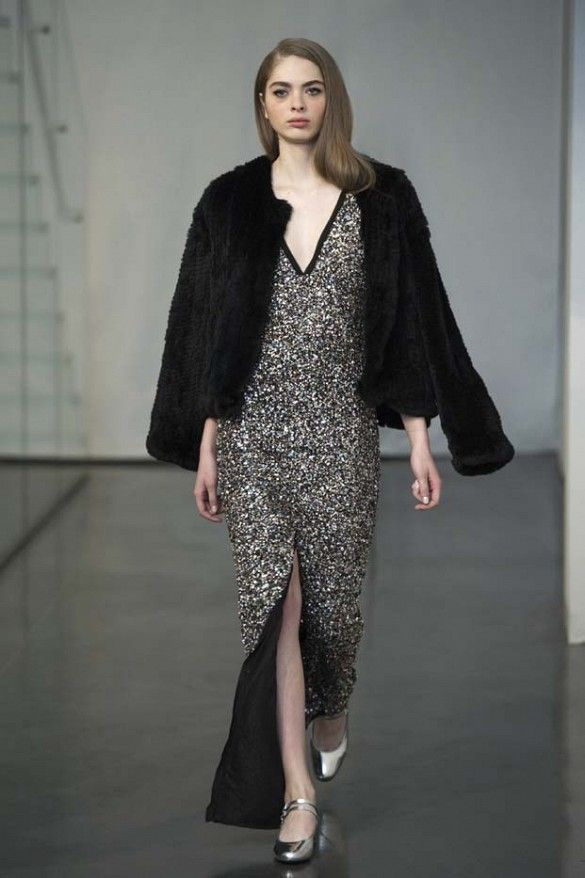 Rachel Zoe Leaves Bohemia Behind For A Mod Inspired F W 15 Collection Fashion Fashion Show Ready To Wear