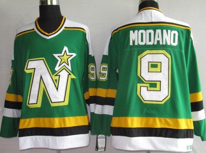 CCM Dallas Stars 9 Mike MODANO Jersey  98f970b2bff