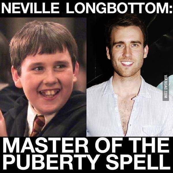 Matthew Lewis How Can He Do This Matthew Lewis Neville Longbottom Harry Potter